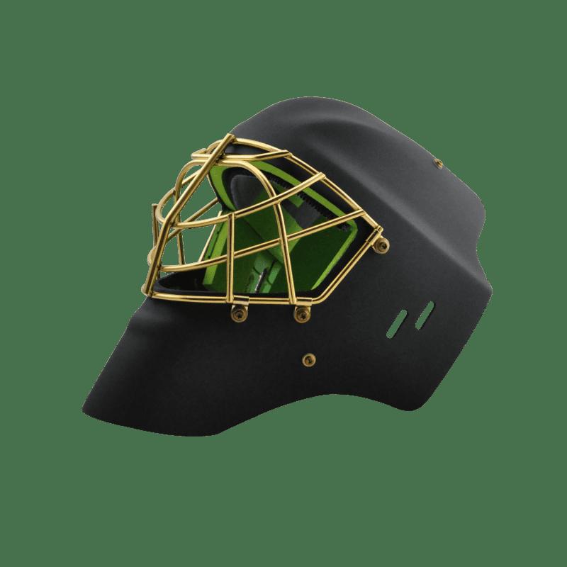 Eishockeymaske Goalie schwarz